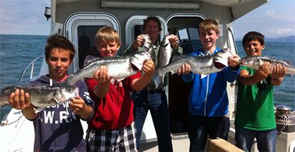 1.5 Hour Mackerel Fishing Trip from Ilfracombe