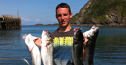 2 Hour Reef Fishing Trip from Ilfracombe.