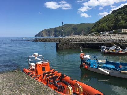 Lynmouth Safari  with time ashore.